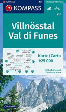 Villnösstal / Val di Funes 1 : 25 000, Diverse