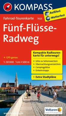Fünf-Flüsse-Radweg 1 : 50 000, Diverse