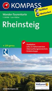 Rheinsteig 1 : 50 000, Diverse
