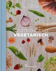 Stevan Paul: Deutschland vegetarisch, Buch