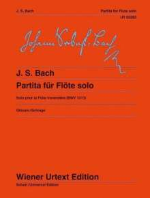 Johann Sebastian Bach: Partita a-Moll für Flöte solo, Noten