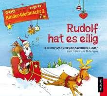 Lorenz Maierhofer: Rudolf hat es eilig, CD