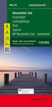 Neusiedler See - Eisenstadt - Leithagebirge - Rust - Sopron - Seewinkel Nationalpark 1 : 50 000. WK 271, Diverse