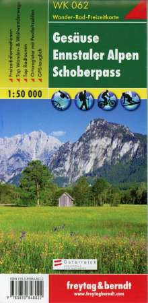 Gesäuse. Ennstaler Alpen. Schoberpaß 1 : 50 000. WK 062, Diverse