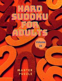 Master Puzzle: Hard Sudoku for Adults - The Super Sudoku Puzzle Book Volume 24, Buch