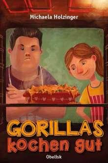 Michaela Holzinger: Gorillas kochen gut, Buch