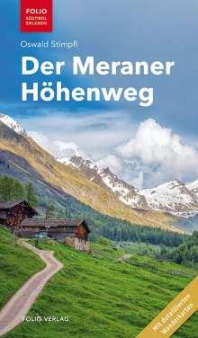 Oswald Stimpfl: Der Meraner Höhenweg, Buch
