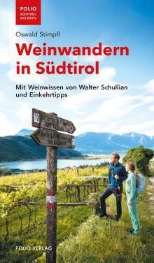 Oswald Stimpfl: Weinwandern in Südtirol, Buch