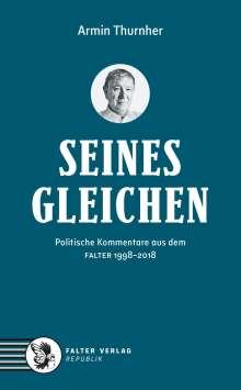 Armin Thurnher: Das Seinesgleichen-Buch, Buch