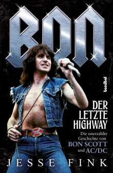 Jesse Fink: Bon - Der letzte Highway, Buch