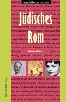 Christina Höfferer: Jüdisches Rom, Buch