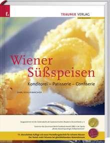 Karl Schuhmacher: Wiener Süßspeisen, Konditorei - Patisserie - Confiserie, Buch