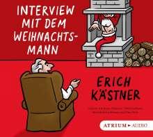 Erich Kästner: Interview mit dem Weihnachtsmann. CD, CD