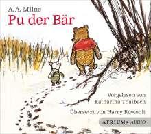 Alan Alexander Milne: Pu der Bär - Hörbuch, CD