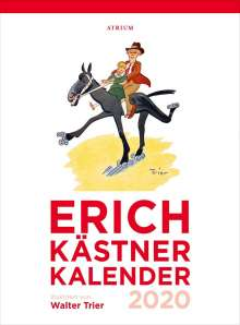 Erich Kästner: Der Erich Kästner Kalender 2020, Diverse