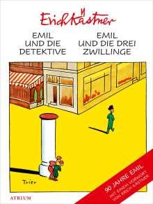 Erich Kästner: Emil und die Detektive & Emil und die drei Zwillinge, Buch
