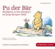 David Benedictus: Pu der Bär. Rückkehr in den Hundertsechzig-Morgen-Wald, CD