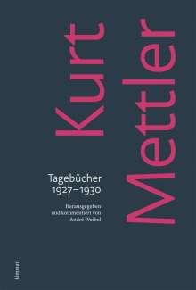 Kurt Mettler: Tagebücher 1927-1930, Buch