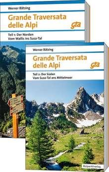 Werner Bätzing: Grande Traversata delle Alpi Nord und Süd, Buch