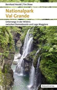 Bernhard Herold: Nationalpark Val Grande, Buch