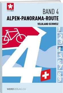 Veloland Schweiz Band 04 Alpen-Panorama-Route, Buch