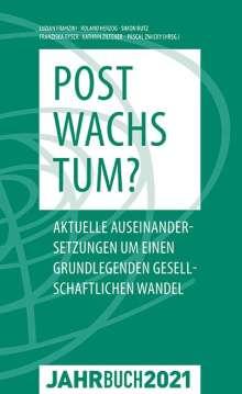 Denknetz Jahrbuch 2021: Postwachstum, Buch