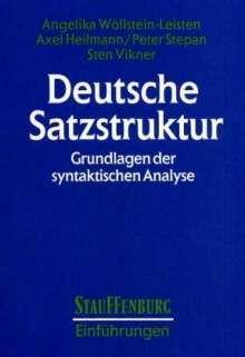 Deutsche Satzstruktur, Buch