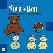 Michaela Wulf-Schäfer: Nora und Ben: Meine ersten Gebärden, Buch