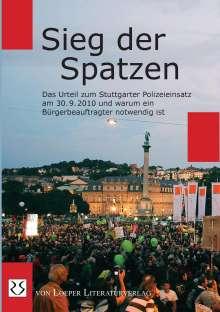 Sieg der Spatzen, Buch