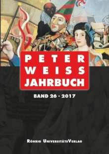 Peter Weiss Jahrbuch 26 (2017), Buch