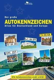 Manfred Klemann: Der große Autokennzeichen Atlas für Deutschland und Europa, Buch