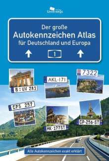 Manfred Klemann: AUTOKENNZEICHEN ATLAS Deutschland / Europa, Buch