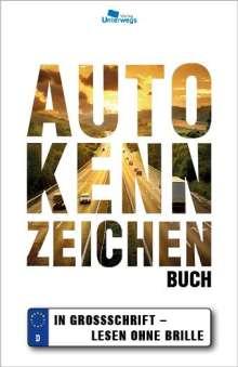 Thomas Schlegel: Autokennzeichen Buch, Buch