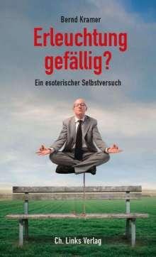 Bernd Kramer: Erleuchtung gefällig?, Buch