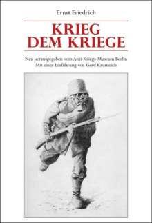 Ernst Friedrich: Krieg dem Kriege, Buch