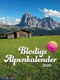 Andrea Strauß: Blodigs Alpenkalender 2020, Diverse