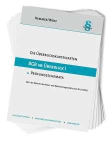 Karl-Edmund Hemmer: BGB im Überblick I, Buch