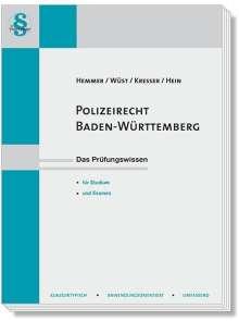 Karl-Edmund Hemmer: Polizeirecht Baden-Württemberg, Buch