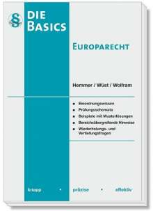Karl-Edmund Hemmer: Basics Europarecht, Buch
