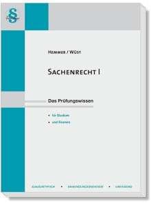 Karl-Edmund Hemmer: Sachenrecht 1, Buch
