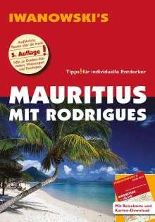 Stefan Blank: Mauritius mit Rodrigues - Reiseführer von Iwanowski, Buch