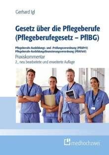 Gerhard Igl: Gesetz über die Pflegeberufe (Pflegeberufegesetz - PflBG) Pflegeberufe-Ausbildungs- und -Prüfungsverordnung (PflAPrV) Pflegeberufe-Ausbildungsfinanzierungsverordnung (PflAFinV), Buch