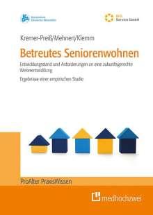 Ursula Kremer-Preiß: Betreutes Seniorenwohnen, Buch