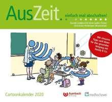 Gerald Lembke: AusZeit... einfach mal abschalten! Cartoonkalender 2020, Diverse
