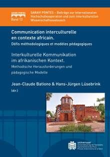 Communication interculturelle en contexte  Africain. Défis méthodologiques et modèles  pédagogiques, Buch