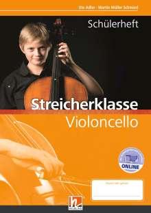 Martin Müller Schmied: Leitfaden Streicherklasse. Schülerheft - Violoncello, Buch