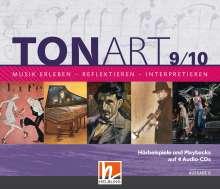 Bernhard Hofmann: TONART 9/10. 4 Audio-CDs. Ausgabe BG (Bayern Gym LehrplanPLUS), 4 CDs