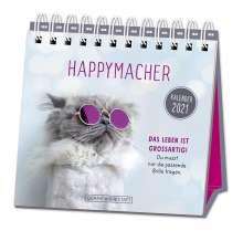 """Tischkalender 2021 """"Happymacher"""", Kalender"""