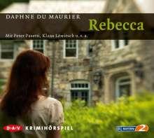 Daphne DuMaurier: Rebecca, 2 CDs
