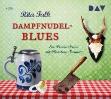 Rita Falk: Dampfnudelblues, 4 CDs
